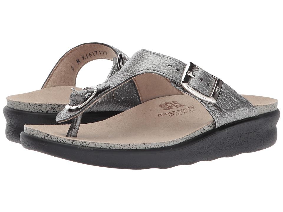 SAS - Sanibel (Pewter) Women's Shoes