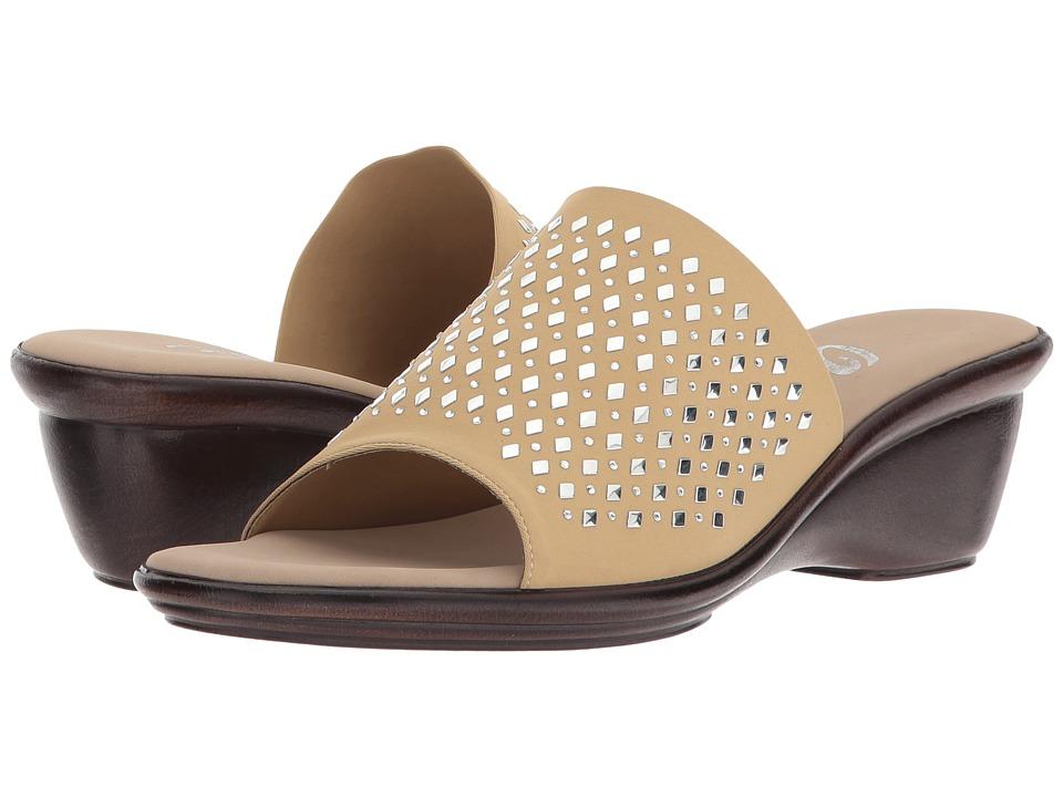 Onex - Izzy (Tan Elastic) Women's Shoes