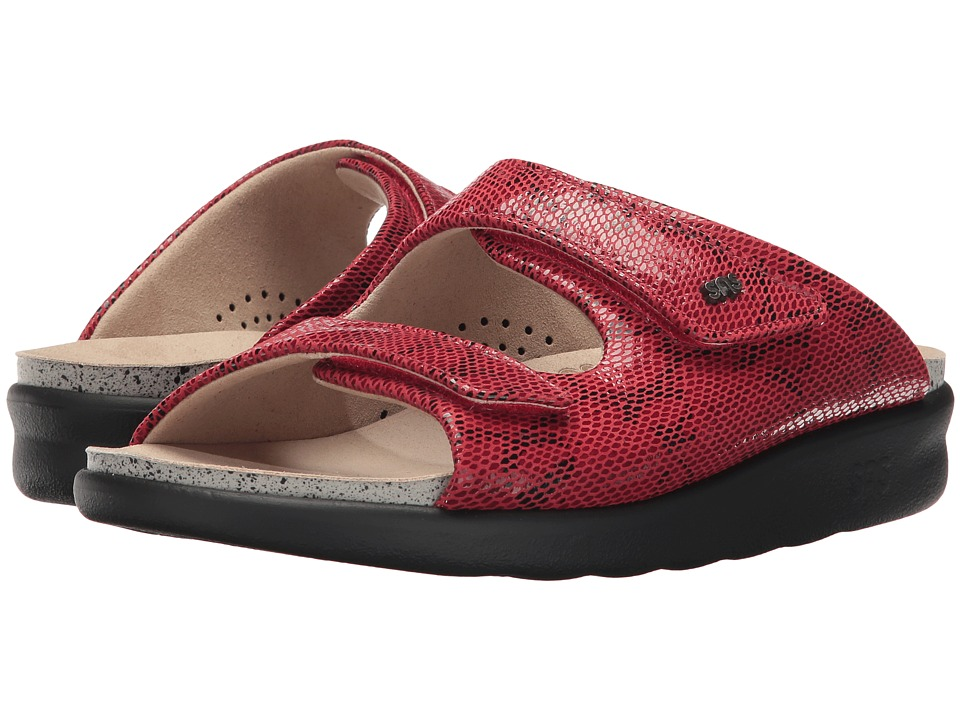 SAS - Cozy (Red Snake) Women's Shoes
