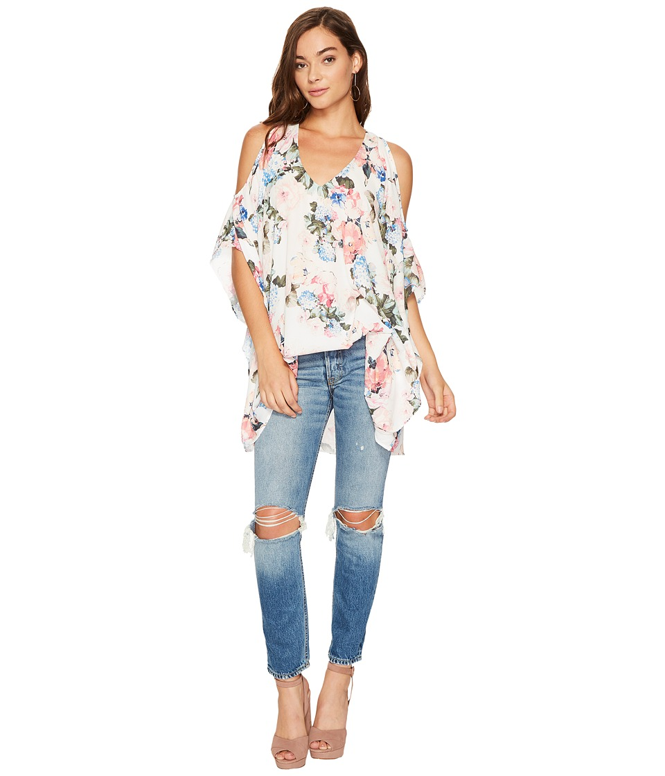 Show Me Your Mumu Peta-Boo Tunic (Sweet Floral) Women's Blouse