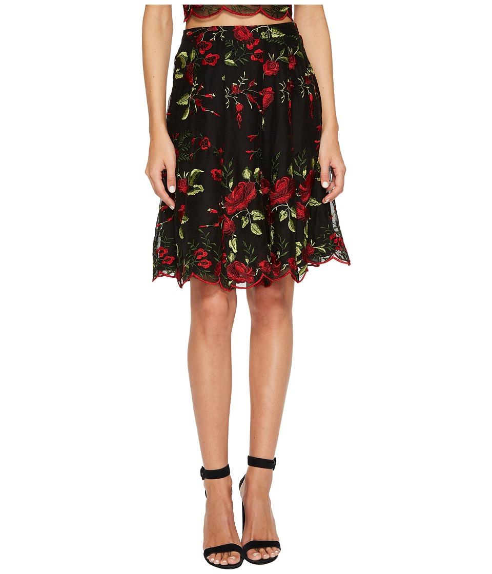 Show Me Your Mumu - Barcelona Skirt (Risque Rose) Women's Skirt