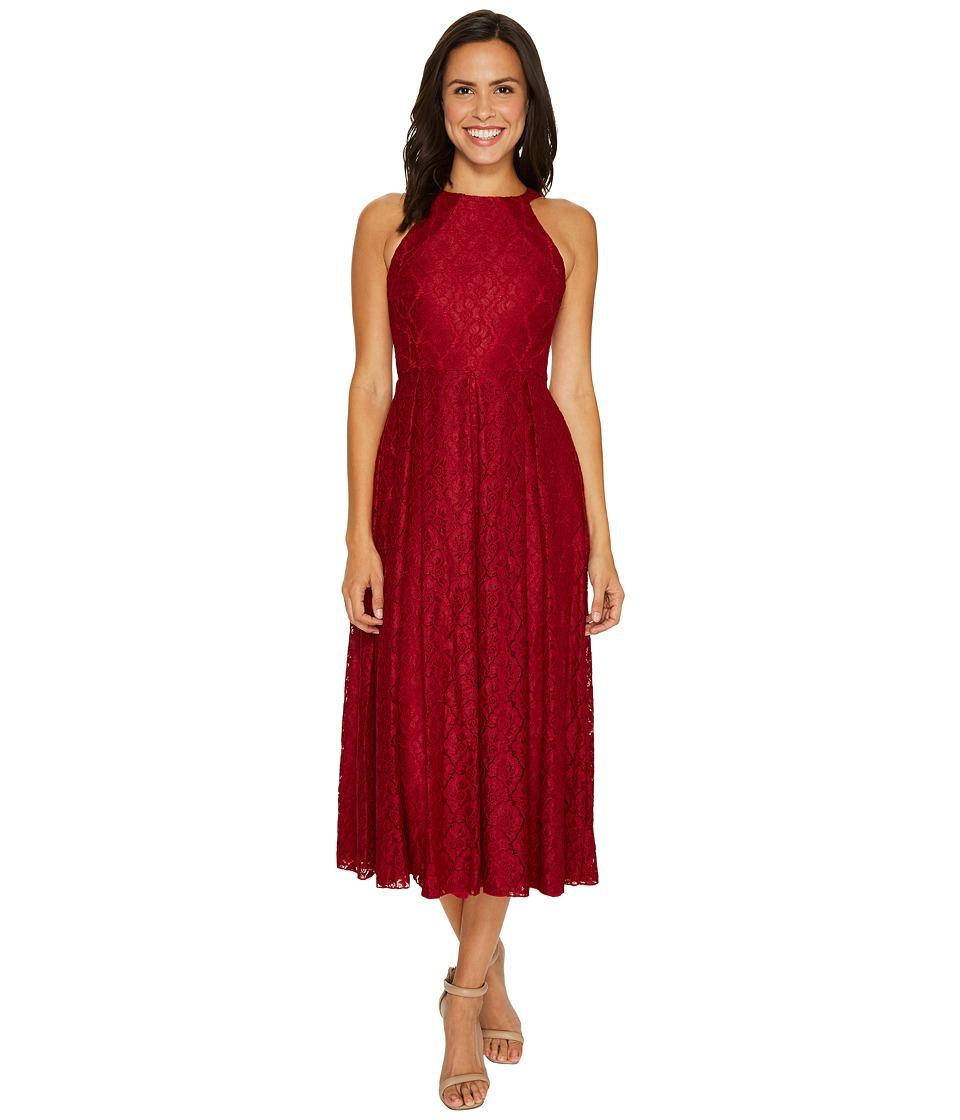 Eva by Eva Franco - Jane Dress (Wine) Women's Dress