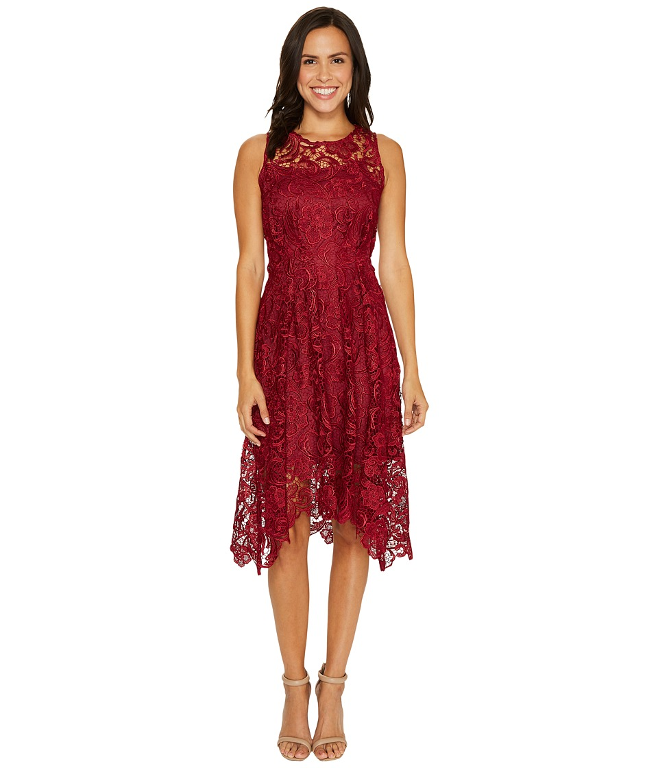 Eva by Eva Franco - Samantha Dress (Wine) Women's Dress