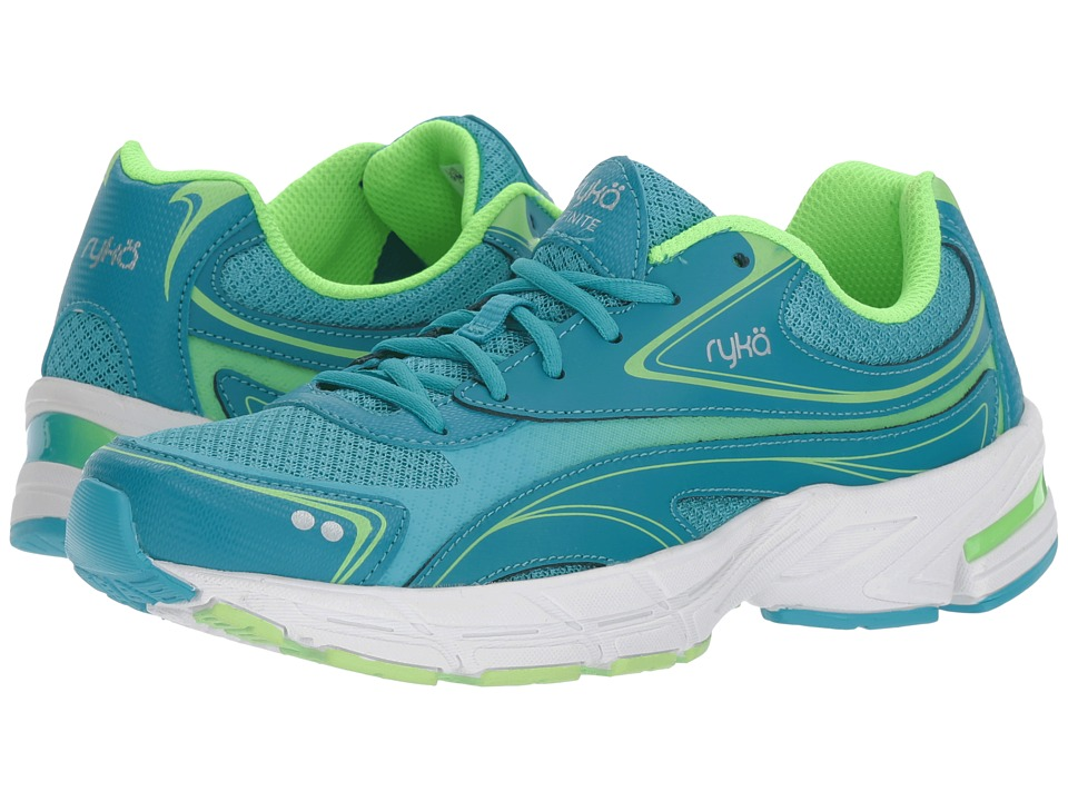 Ryka - Infinite SMW (Enamel Blue/Lime) Women's Shoes