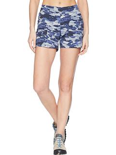 哥伦比亚 Columbia Silver Ridge Printed Pull-On Shorts
