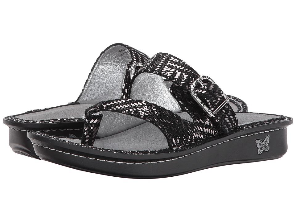 Alegria - Valentina (Pewter Dazzler) Women's Sandals