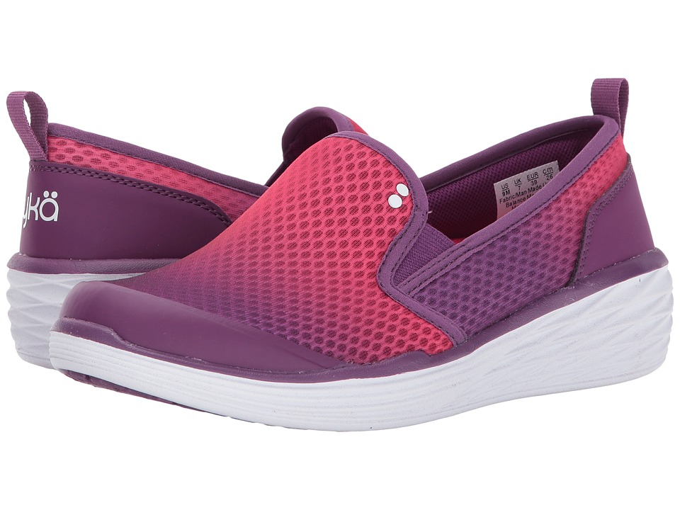 Ryka - Neve (Grape Juice/Snozzberry/White) Women's Shoes