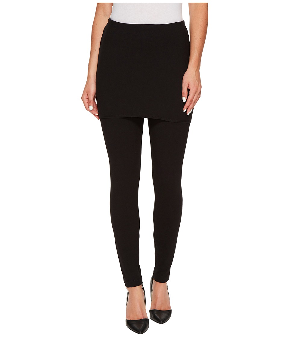 Lysse Skirted Leggings (Black) Women