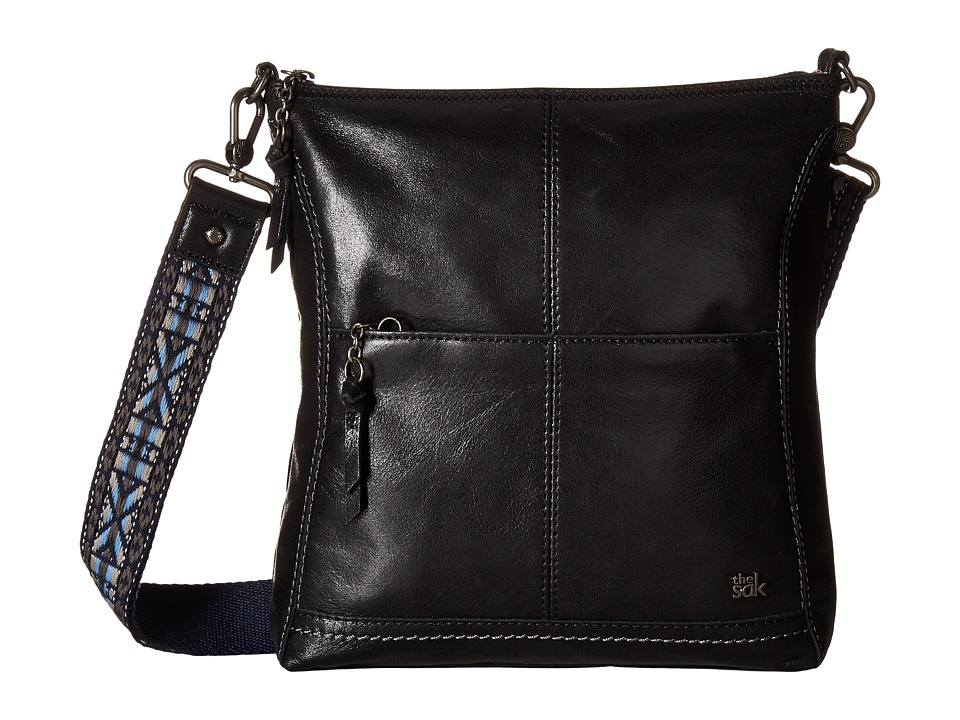 The Sak - Iris Crossbody (Blue Embellished Stripe) Cross Body Handbags