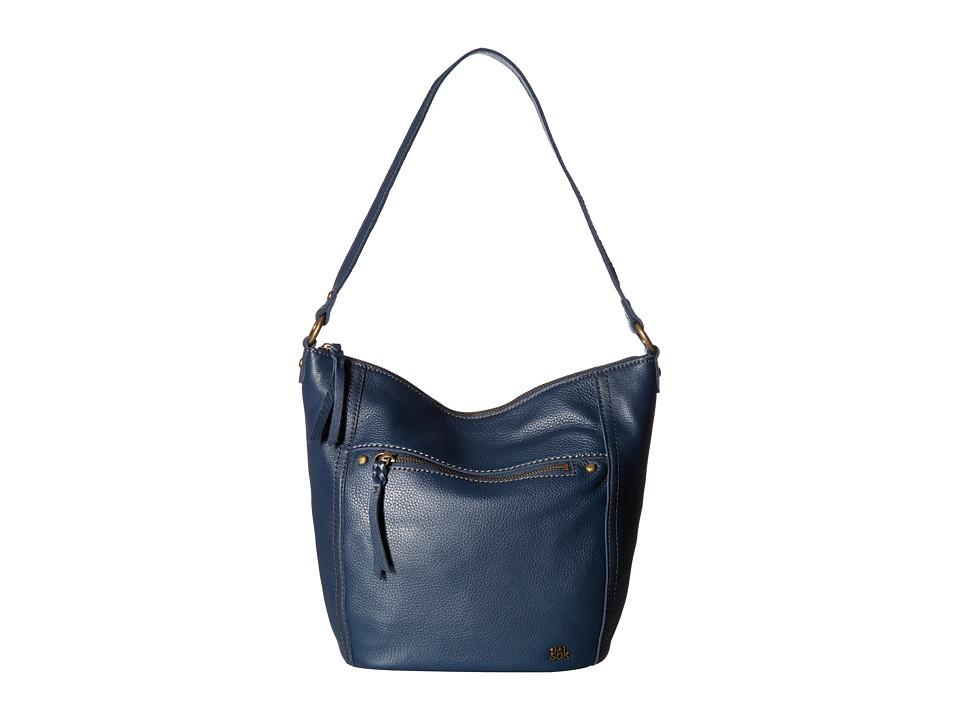 The Sak - Carson Leather Hobo (Indigo) Hobo Handbags