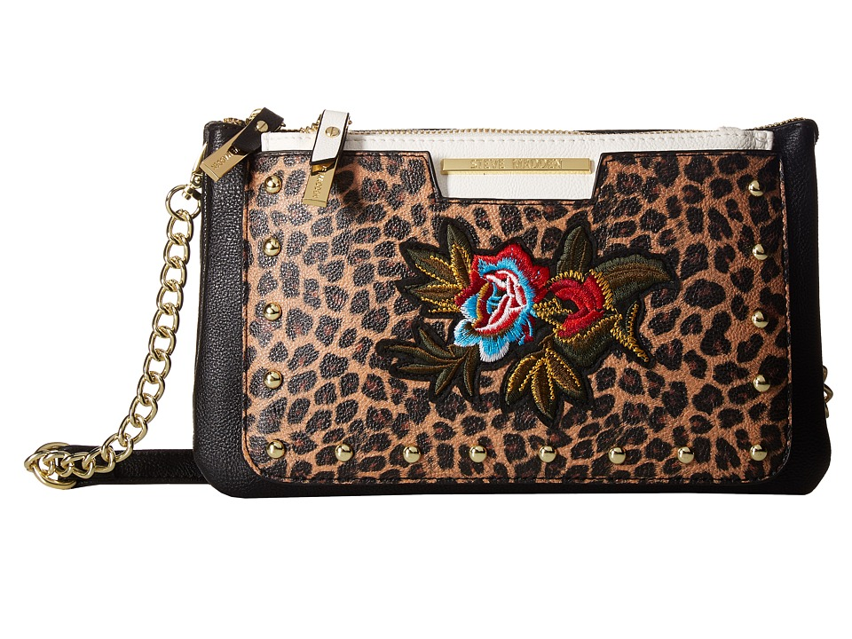 Steve Madden - Belaine Patch (Black Multi) Handbags