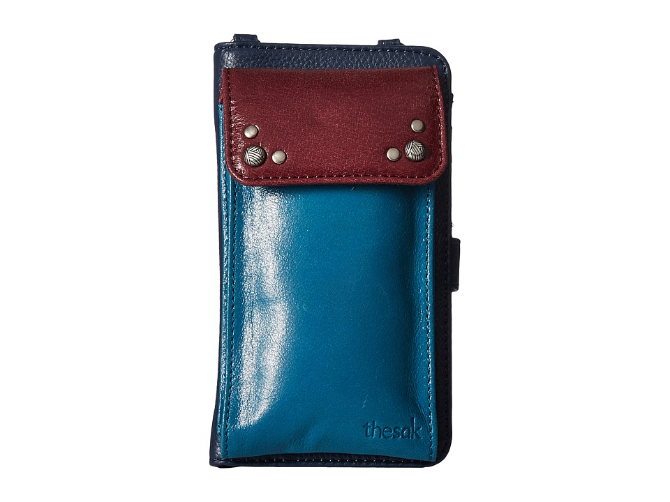 The Sak - Sanibel Leather Wallet (Multi Block) Wallet Handbags