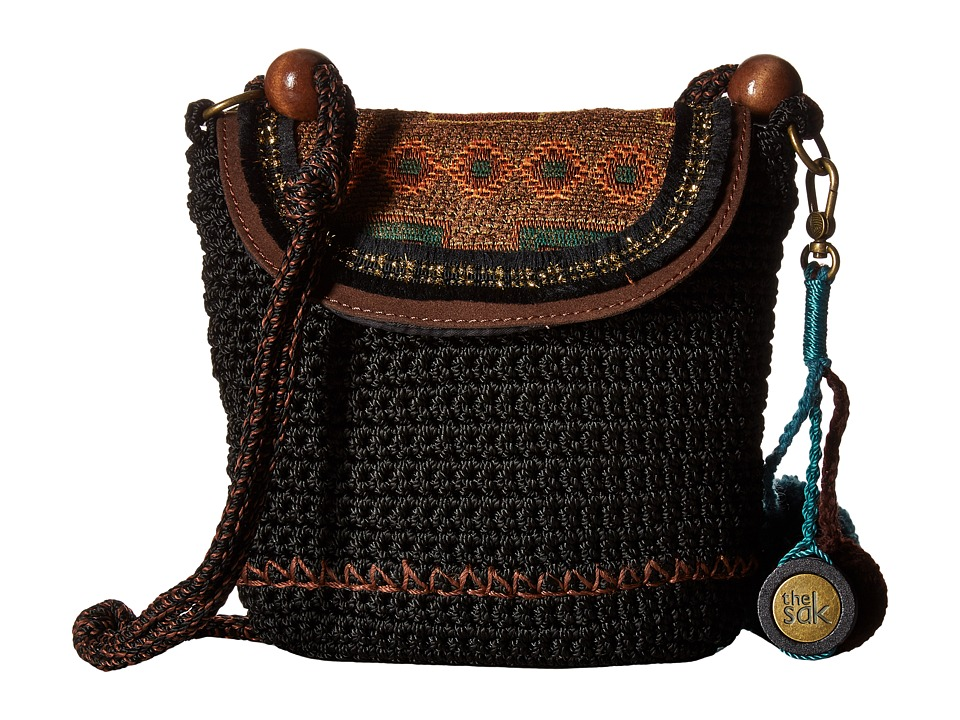The Sak - Sayulita Flap (Black Tap) Handbags