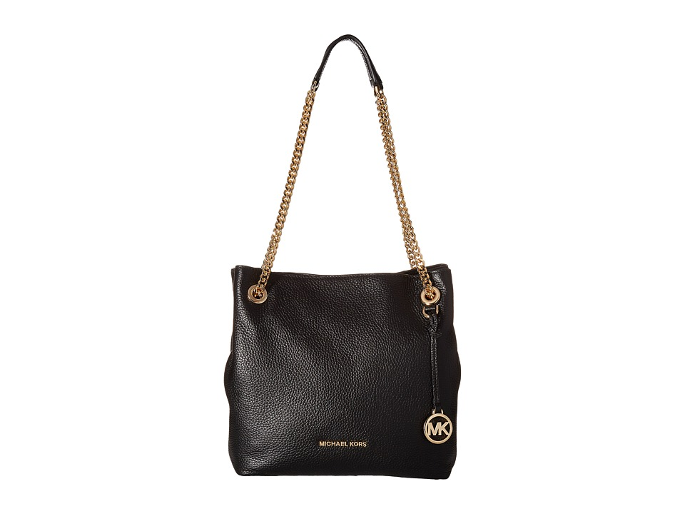 MICHAEL Michael Kors - Jet Set Chain Medium Shoulder Tote (Black) Tote Handbags