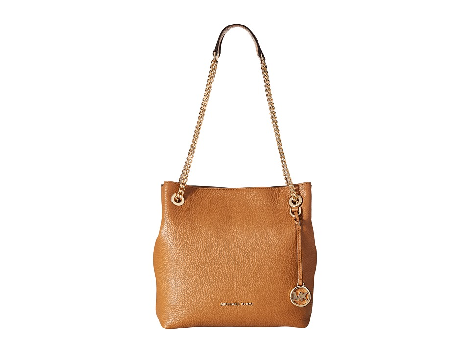 MICHAEL Michael Kors - Jet Set Chain Medium Shoulder Tote (Acorn) Tote Handbags