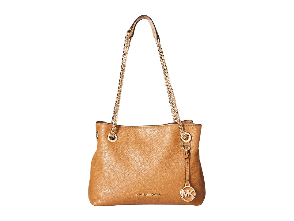 MICHAEL Michael Kors - Jet Set Chain Medium Messenger (Acorn) Messenger Bags