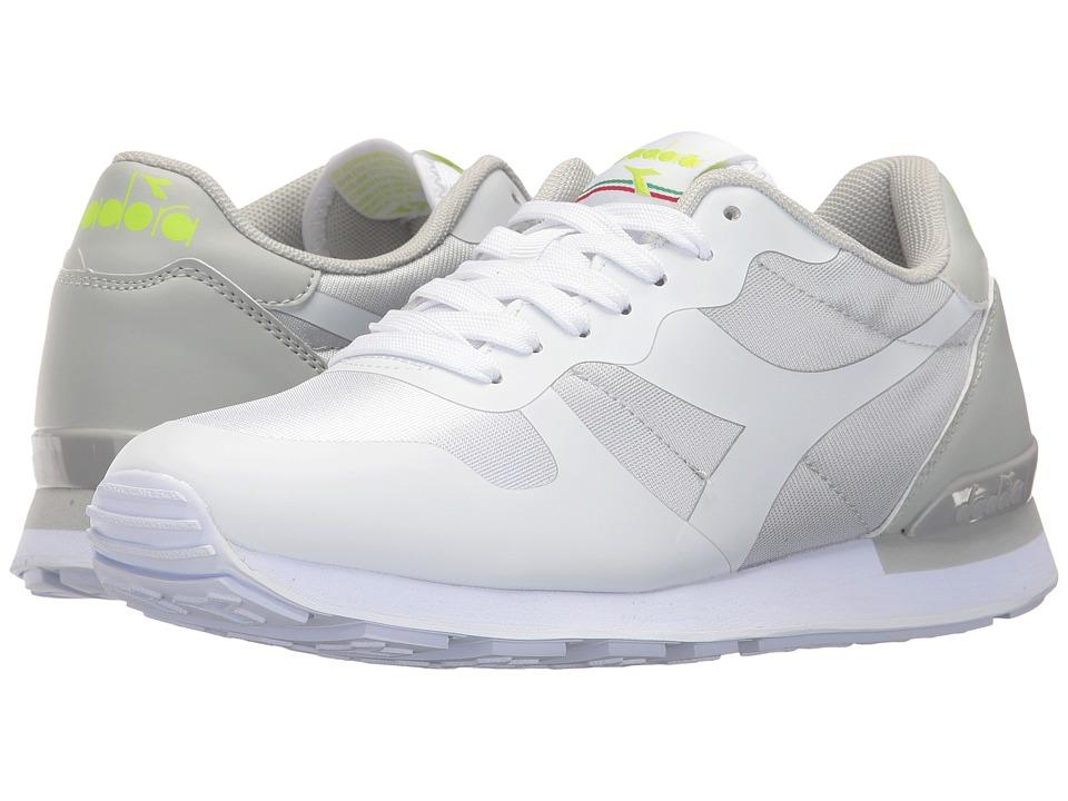 Diadora Camaro MM (White/Lunar Rock) Athletic Shoes