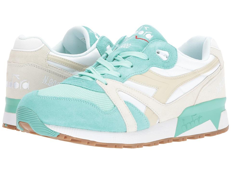 Diadora N9000 NYL (Ice Green/Beige Birch) Athletic Shoes