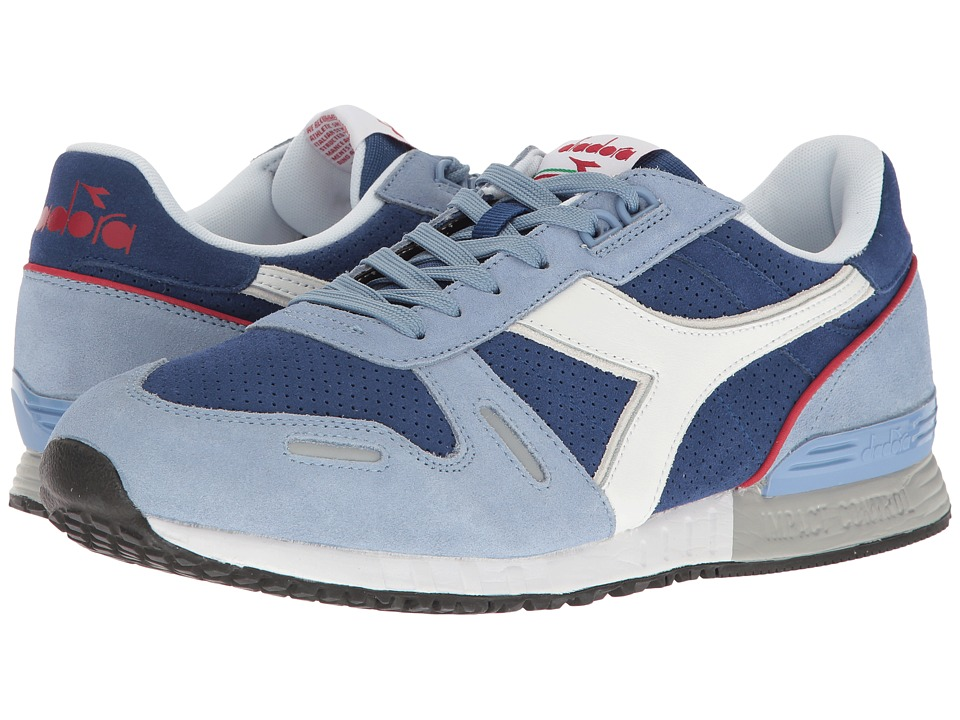 Diadora - Titan Premium (Saltire Navy/Bordeaux) Athletic Shoes