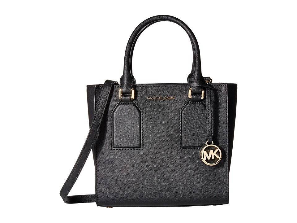 MICHAEL Michael Kors - Selby Medium Messenger (Black) Messenger Bags