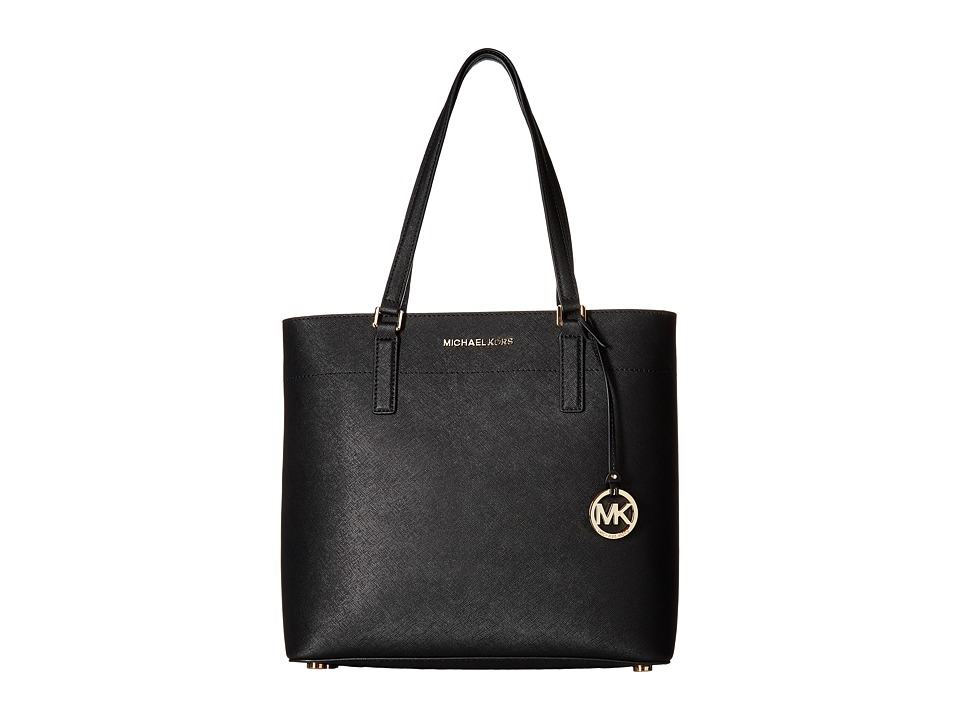 MICHAEL Michael Kors - Morgan Large Tote (Black) Tote Handbags
