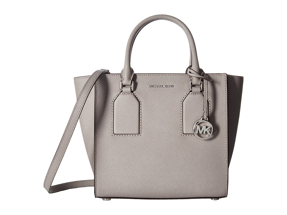 MICHAEL Michael Kors - Selby Medium Satchel (Pearl Grey) Satchel Handbags