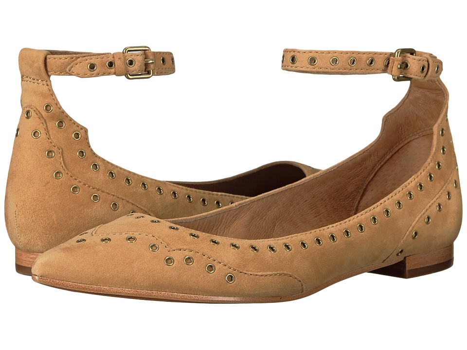 Frye - Sienna Grommet (Camel) Women's Shoes