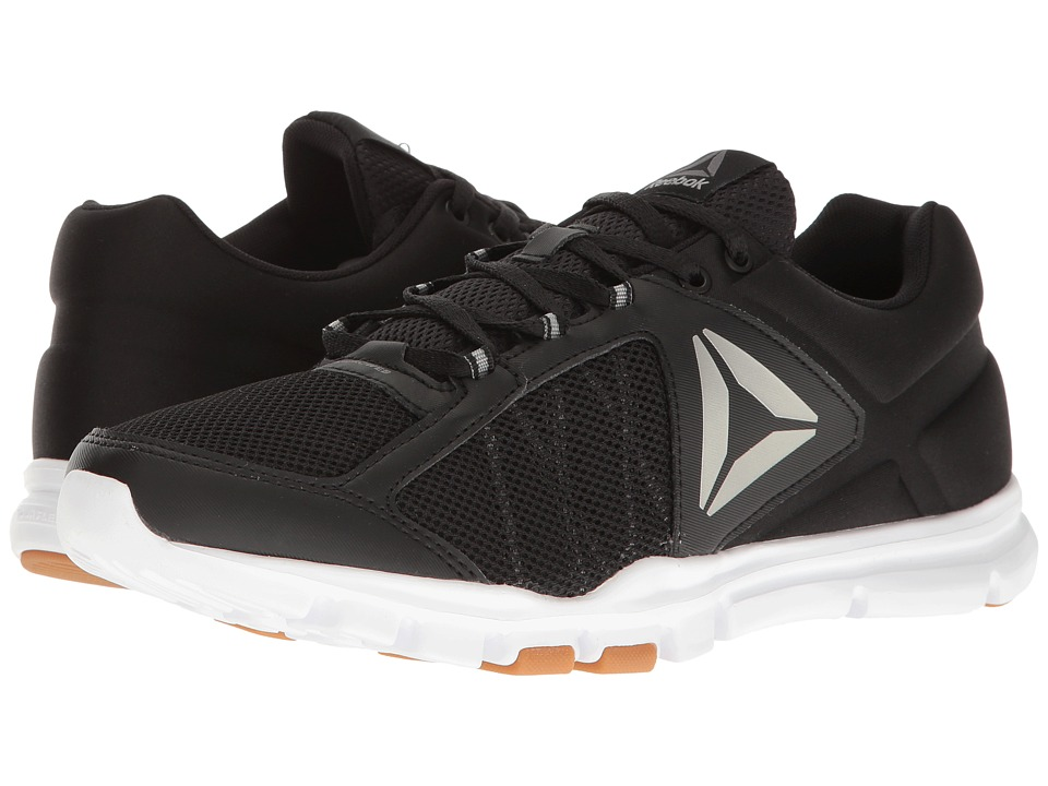 Reebok - Yourflex Train 9.0 MT (Black/White/Gum/Pewter) Men's Cross Training Shoes