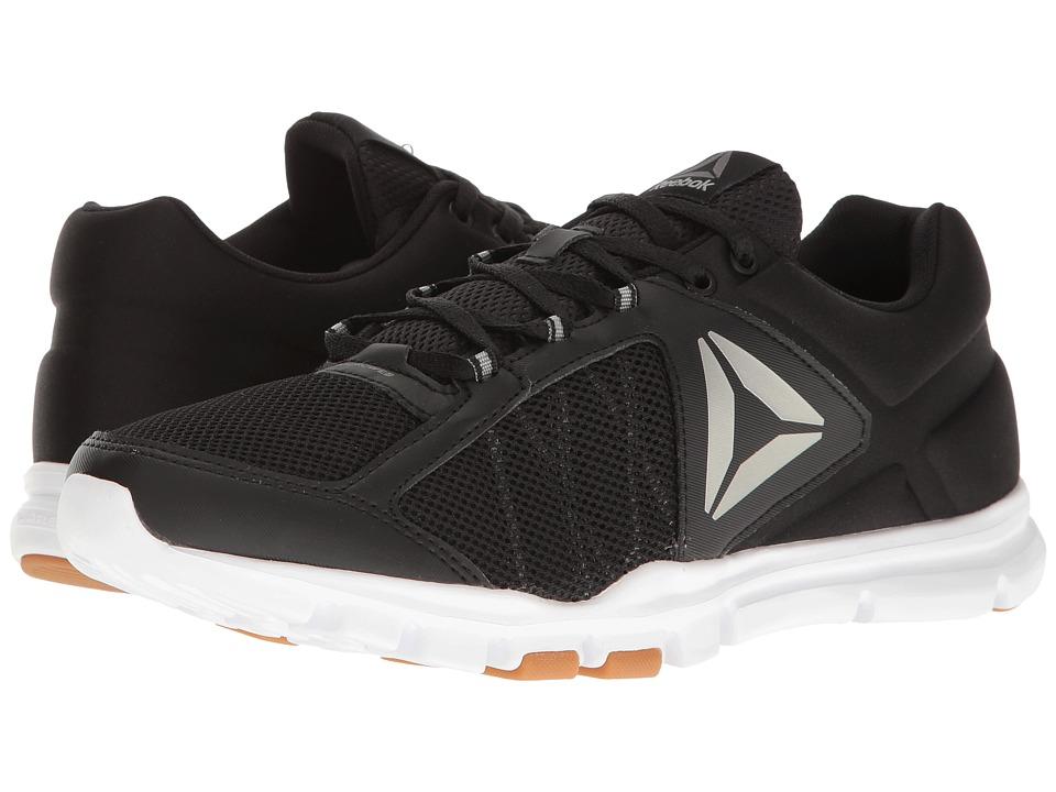 Reebok - Yourflex Train 9.0 MT (Black/White/Gum/Pewter) Men's Cross Training Shoes