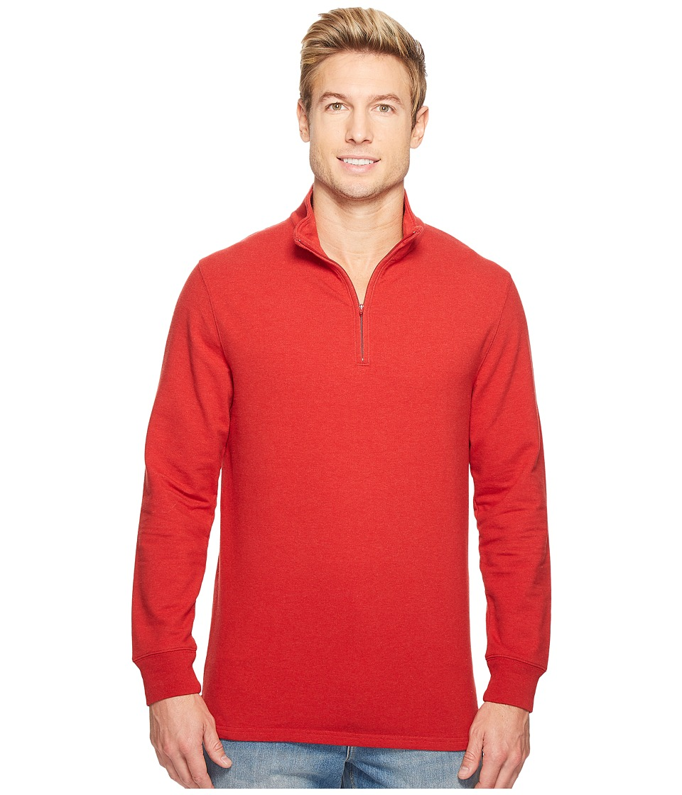 Pendleton - Coos Bay Pullover (Chili Pepper Red) Men's Sweatshirt