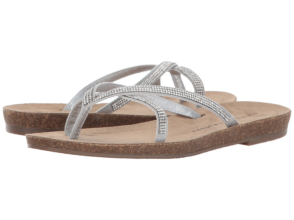 Chinese Laundry - Nalla (Silver Micro Suede) Women's Sandals