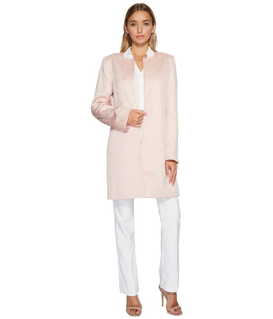 Tahari by ASL - Long Sleeve Jacket (Blush Pink) Women's Coat