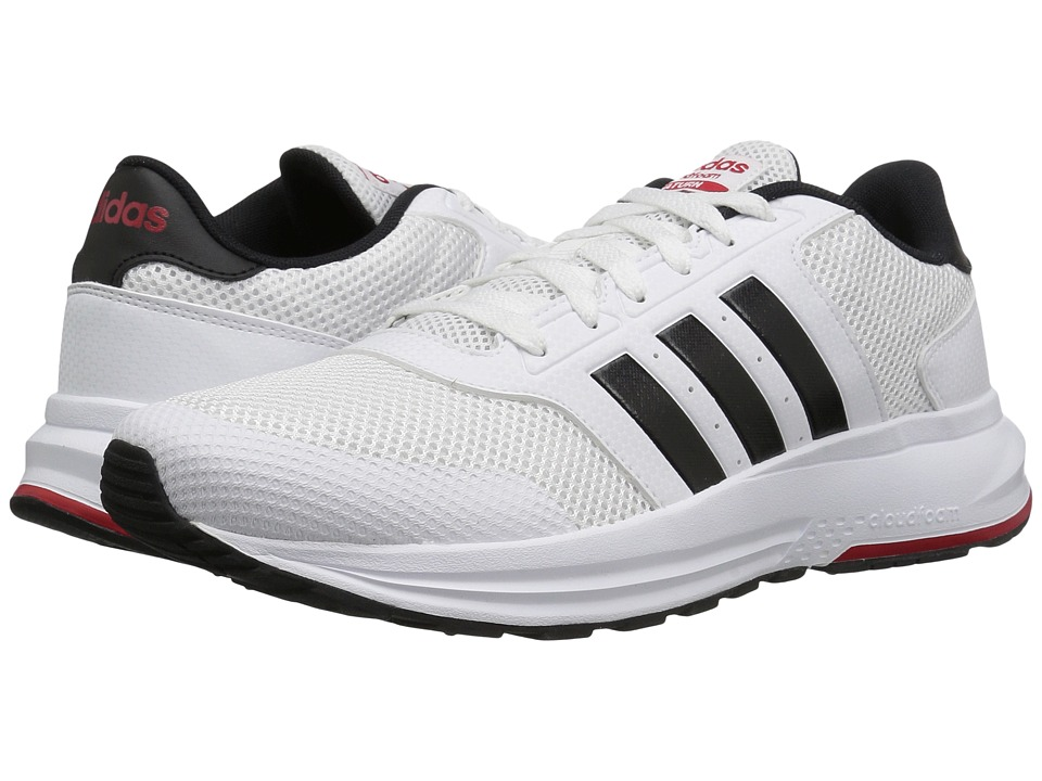 adidas - CF Saturn (White/Black/Scarlet) Men's Shoes