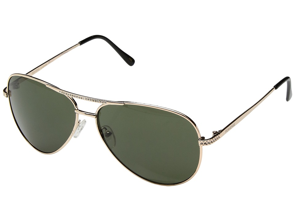 PERVERSE Sunglasses - Whiskey (Lowlands/Silver/Smoke Mirrored) Fashion Sunglasses
