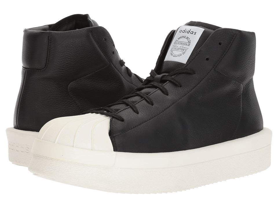 Image of adidas by Rick Owens - RO Mastodon Pro Model II (RO Black/RO Milk/RO Milk) Men's Shoes