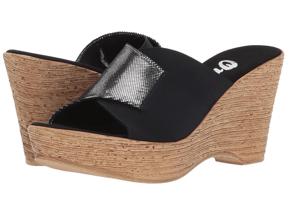 Onex - Diane (Black/Silver) Women's Shoes