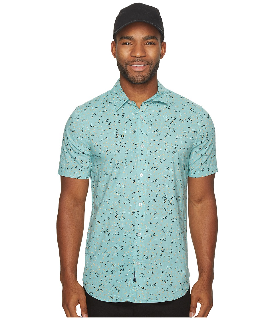 Roark - Thieves Woven Button-Up Shirt (Mint) Men's Clothing