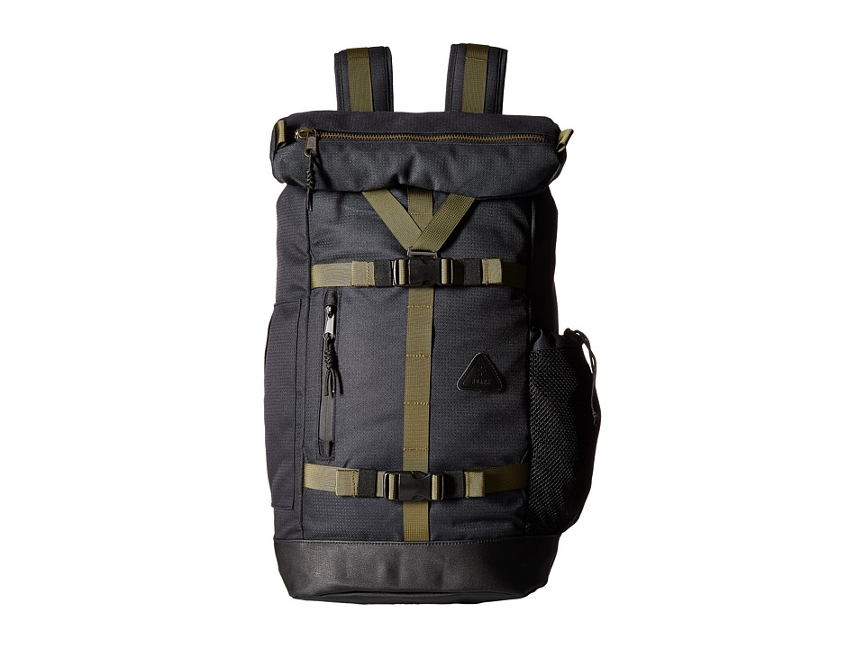 Roark - Atlas 3-Day Backpack (Black) Backpack Bags