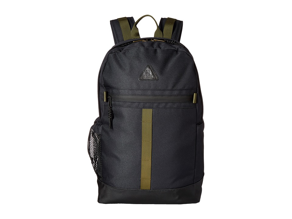 Roark - Atlas 1-Day Backpack (Black) Backpack Bags
