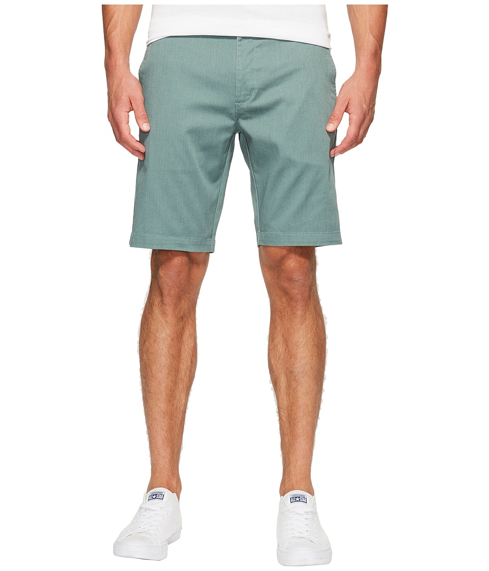 RVCA - The Week-End Stretch Shorts (Pine Tree Heather) Men's Shorts