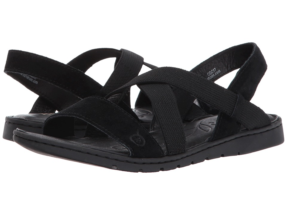 Born Atiana (Black Suede) Women