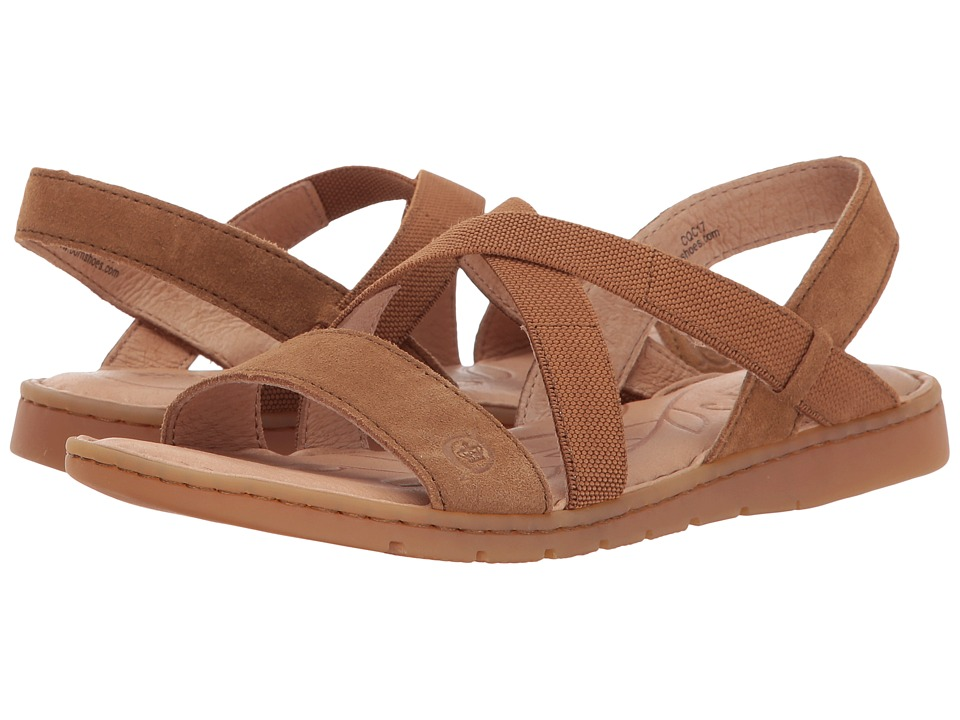 Born - Atiana (Tan Masala Suede) Women's Dress Sandals