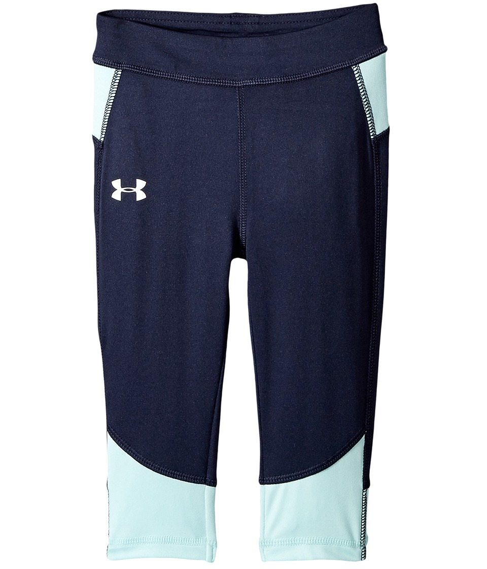 Under Armour Kids - Pinnacle Capris (Toddler) (Midnight Navy) Girl's Capri