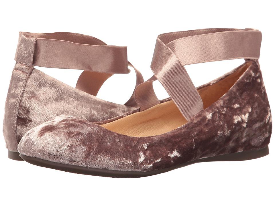 Jessica Simpson - Mandayss (Cashmere Mauve Luscious Velvet) Women's Flat Shoes