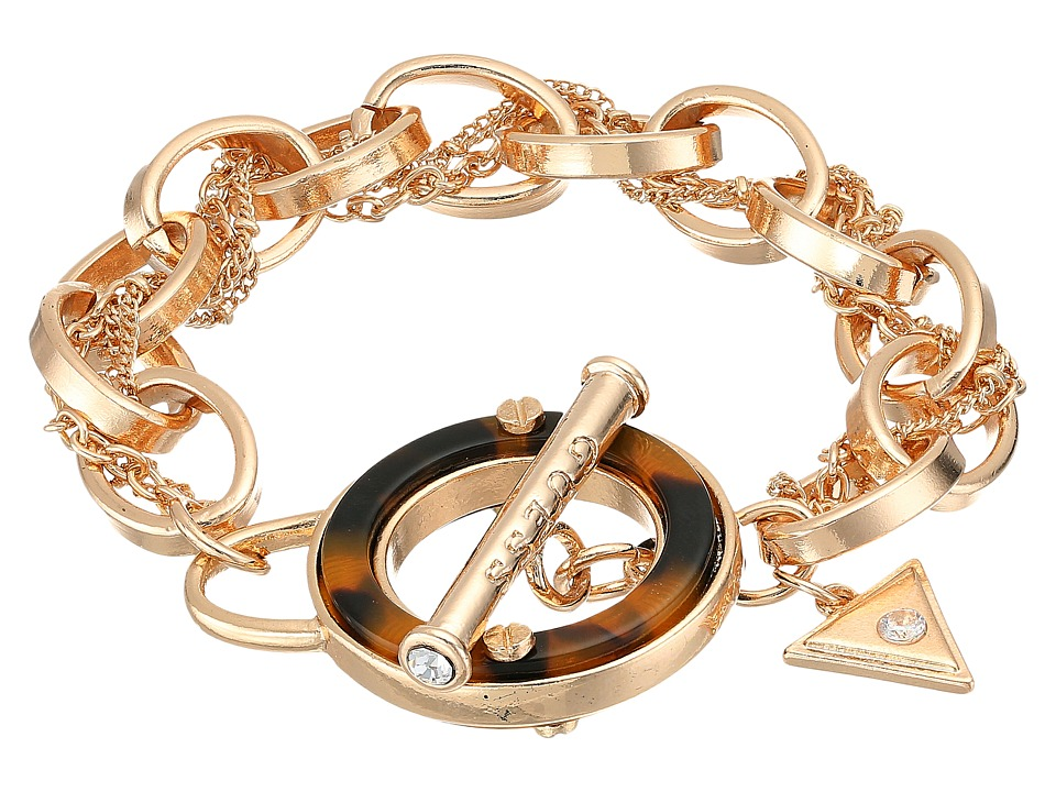 GUESS - Tortoise Toggle Bracelet (Gold/Tortoise) Bracelet
