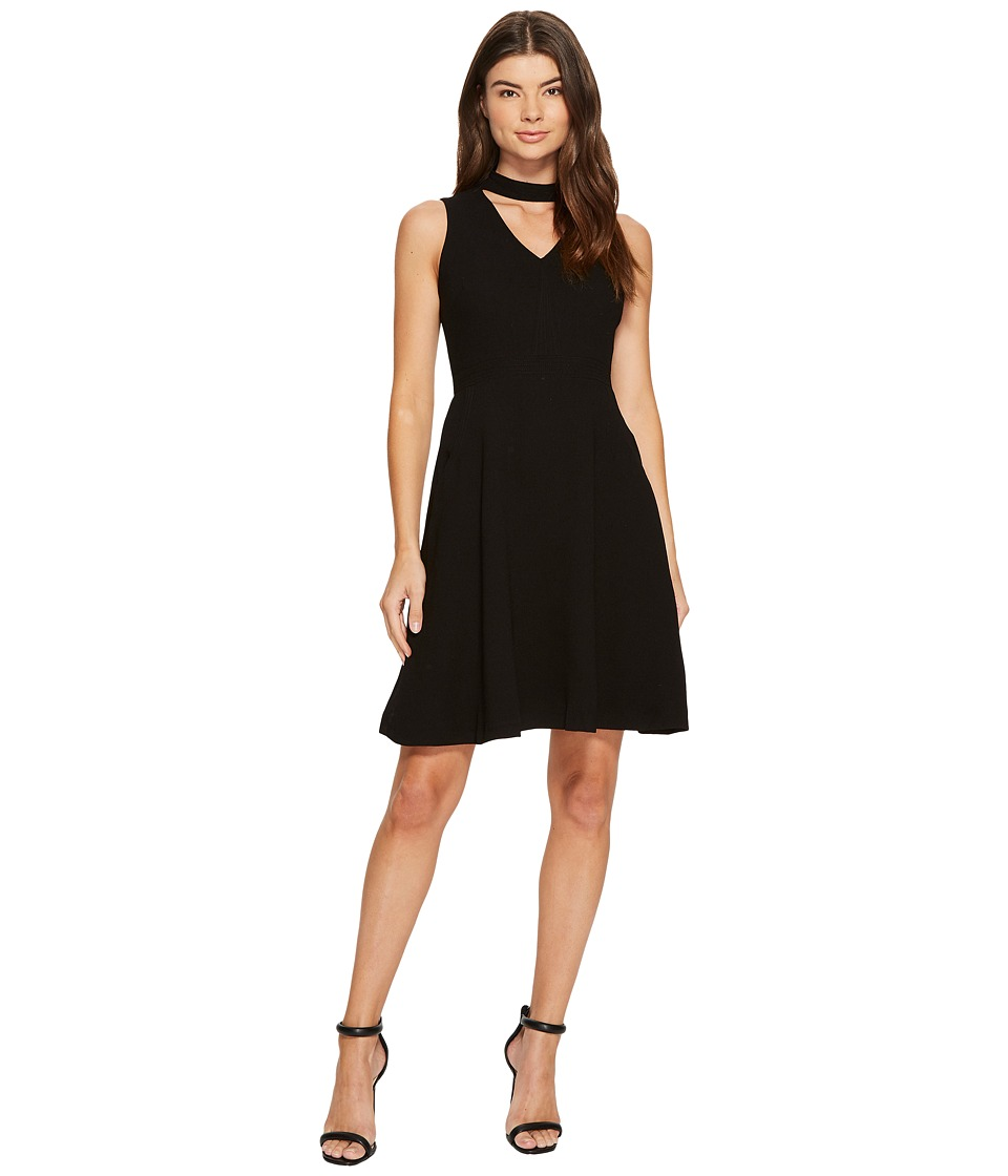CATHERINE Catherine Malandrino Sleeveless Pieced Dress (Black Beauty) Women