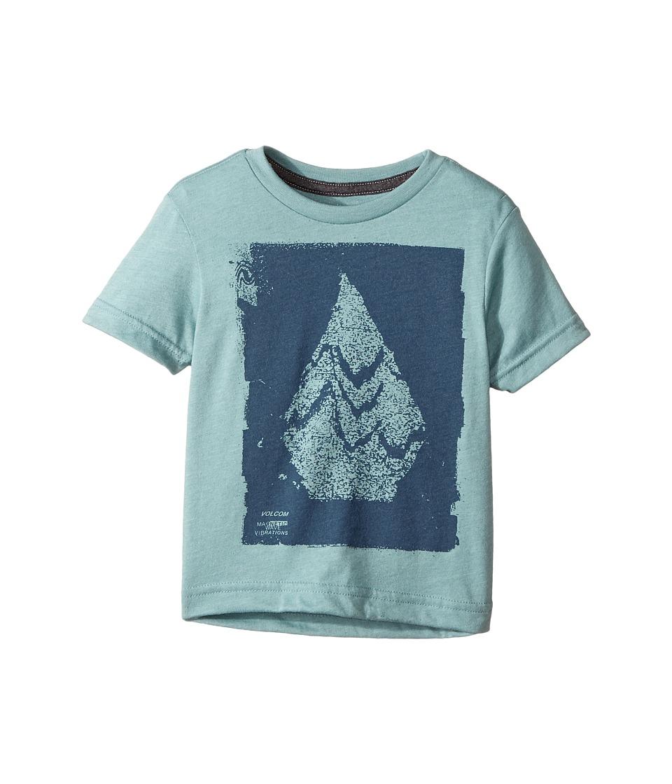 Volcom Kids - Disruption Short Sleeve Tee (Toddler/Little Kids) (Sea Blue) Boy's T Shirt