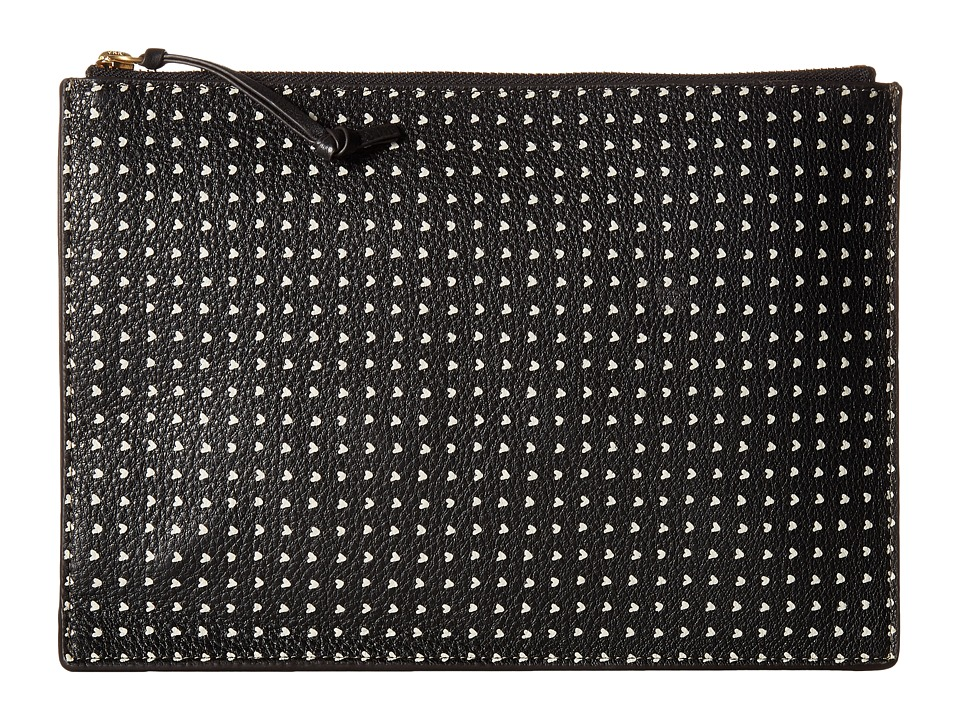 Fossil - Emma Pouch PL (Black/White) Travel Pouch