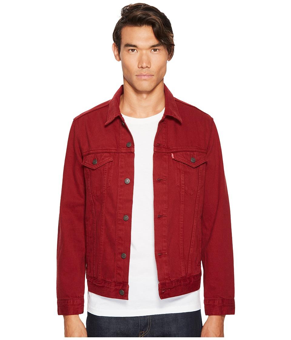 Levi's(r) Mens - The Trucker Jacket (Pomegranate Garment Dye) Men's Coat