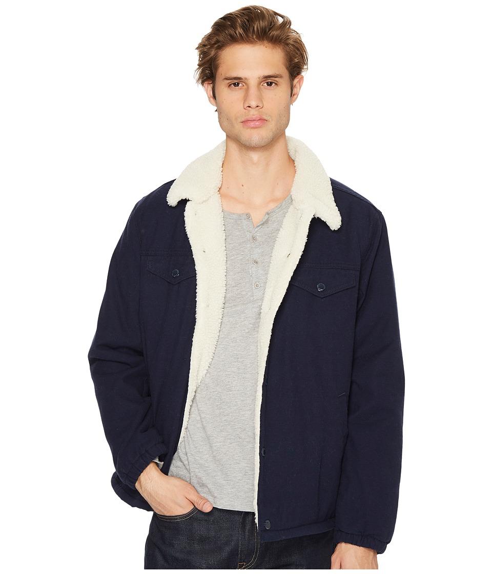 Levi's(r) Mens - Sherpa Coach Trucker Jacket (Nightwatch Micro Cord) Men's Coat